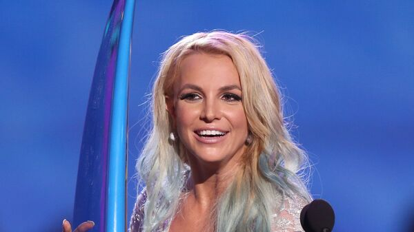 Бритни Спирс на церемонии награждения на Teen Choice Awards в Лос-Анджелесе, США