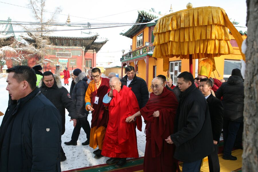 Визит Далай-ламы в Монголию