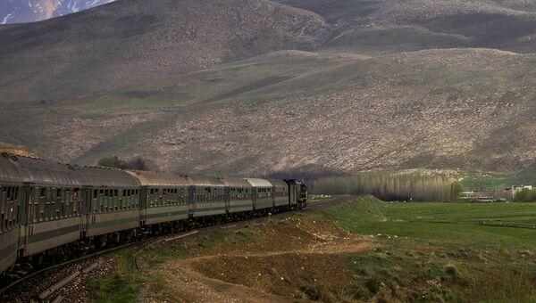 Поезд в Иране. Архивное фото