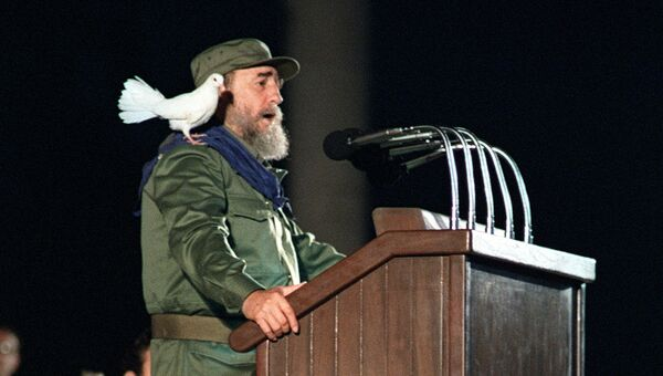 Президент Кубы Фидель Кастро. Архивное фото