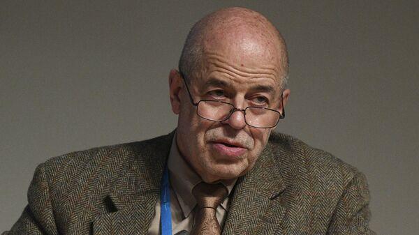 Председатель ученого совета Института востоковедения РАН Виталий Наумкин на международном форуме Примаковские чтения. 28 ноября 2016
