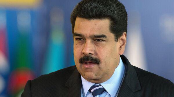 Президент Венесуэлы Николас Мадуро. Архивное фото