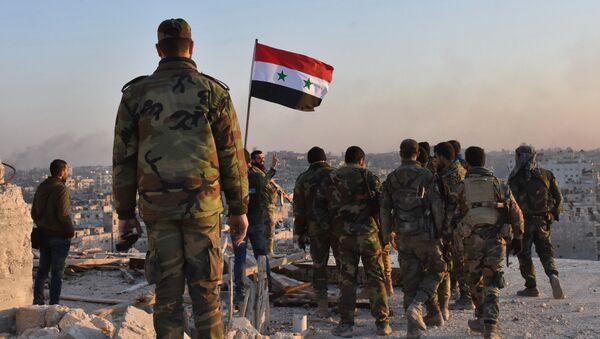 Военные сирийской армии. Архивное фото