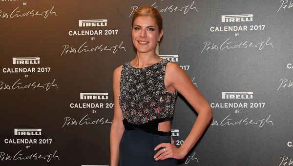 Преподаватель МГИМО Анастасия Игнатова на презентации календаря Pirelli 2017