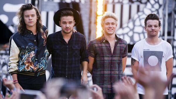 Группа One Direction на телеканале АВС Доброе утро, Америка. Архивное фото