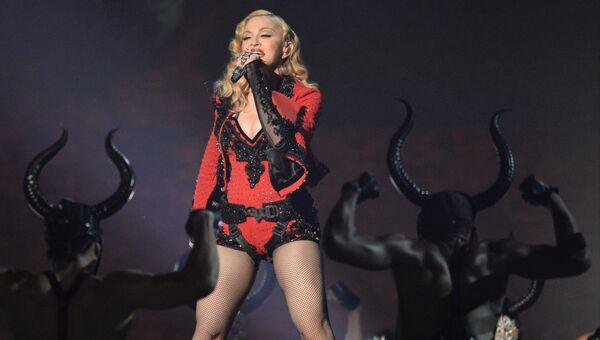 Выступление Мадонны. Архивное фото