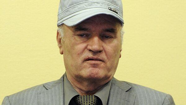 Сербский генерал Ратко Младич. Архивное фото