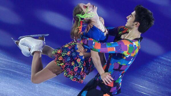 Анастасия Мишина и Владислав Мирзоев участвуют в показательных выступлениях финала Гран-при по фигурном катанию в Марселе