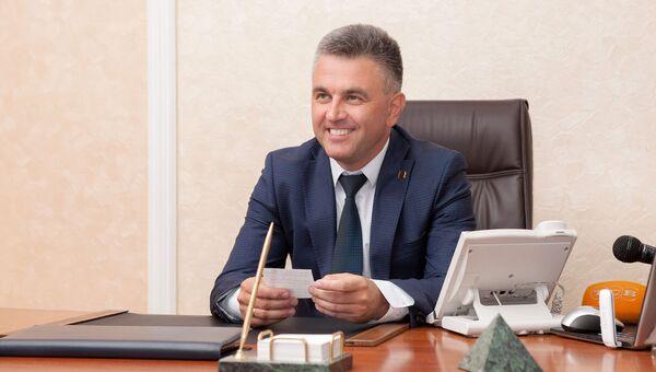 Председатель Верховного совета непризнанной Приднестровской Молдавской Республики Вадим Красносельский
