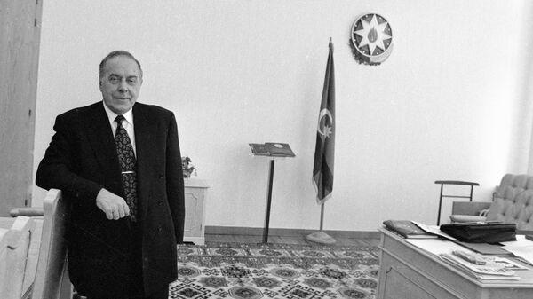 Президент Азербайджана Гейдар Алиев