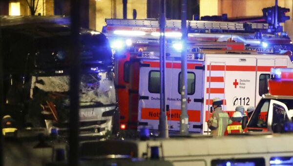 Ситуация в Берлине после наезда грузовика на толпу