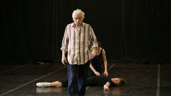 Юрий Григорович на репетиции балета Ромео и Джульетта
