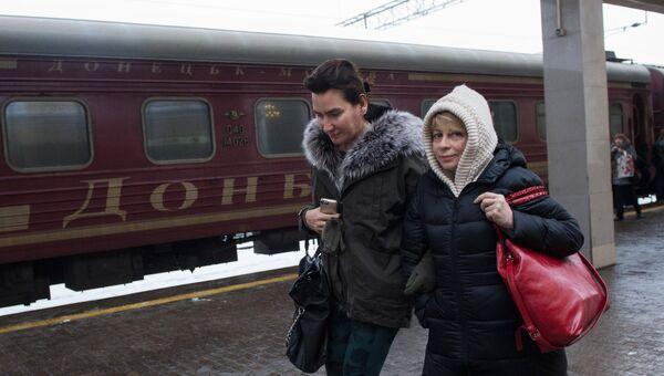 Елизавета Глинка привезла группу тяжелобольных детей из Донецка в Москву