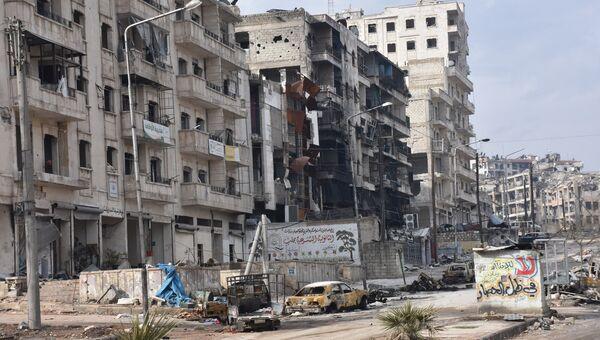 Алеппо после освобождения от террористов. Архивное фото