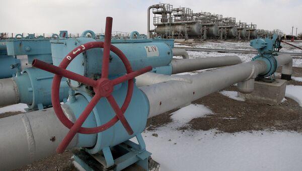 Газохранилище Черноморнефтегаз в Крыму. Архивное фото