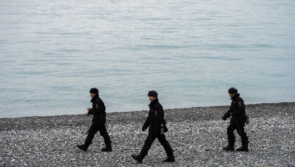 Поисковые работы у побережья Черного моря, где потерпел крушение самолет Ту-154