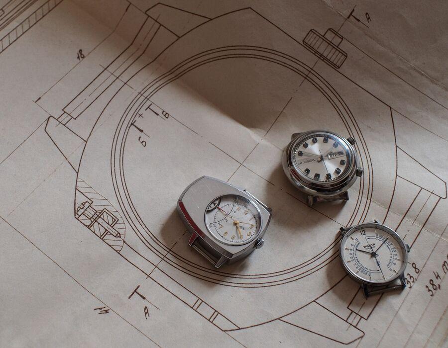 Студия дизайна часового завода Ракета