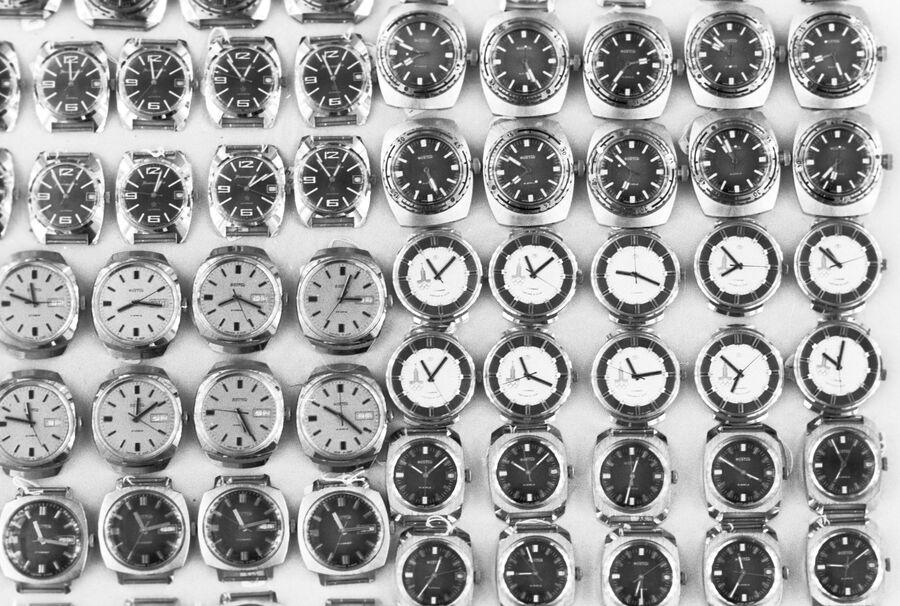 Наручные часы Восток - продукция Чистопольского часового завода