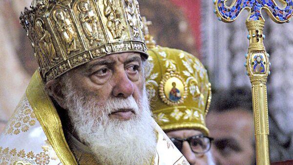 Католикос-Патриарх всея Грузии Илия II (второй). Архивное фото