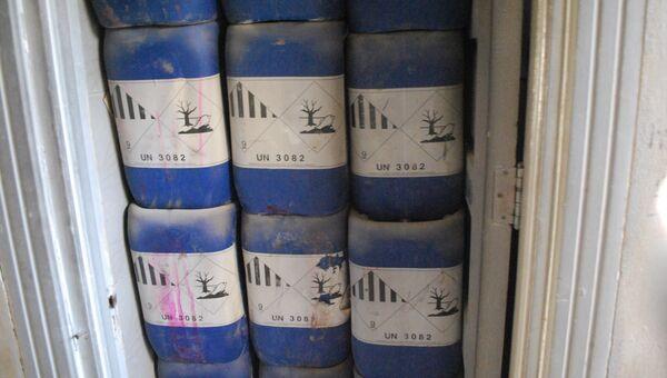 Химическое оружие в Сирии. Архивное фото