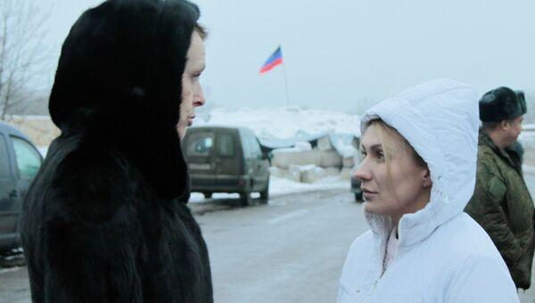 Руководитель рабочей группы ЛНР по обмену военнопленных Ольга Кобцева. Архивное фото
