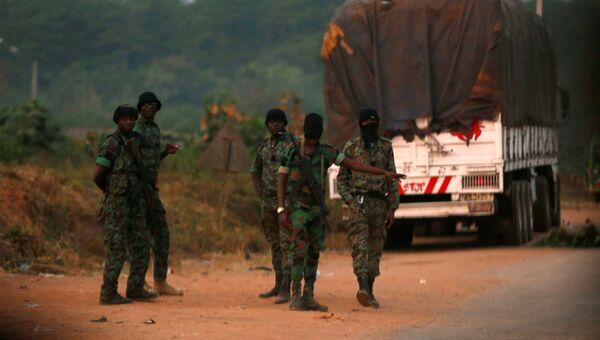Военнослужащие в Кот-д`Ивуаре