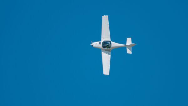Легкий одномоторный самолет. Архивное фото