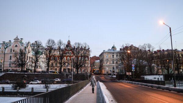 Старый город в Выборге. Архивное фото