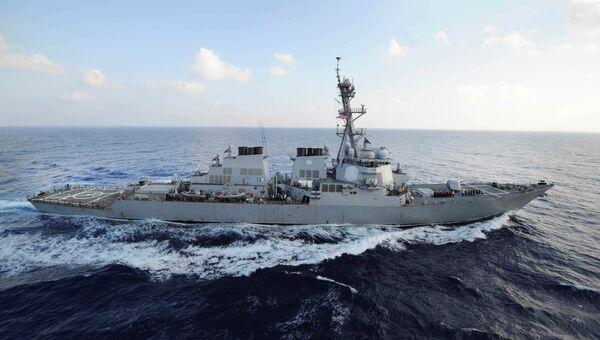 Американский эсминец VII уровня Mahan. Архивное фото