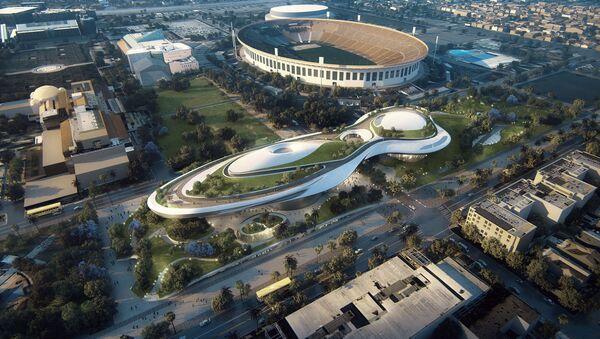 Проект музея Джорджа Лукаса в Лос-Анджелесе