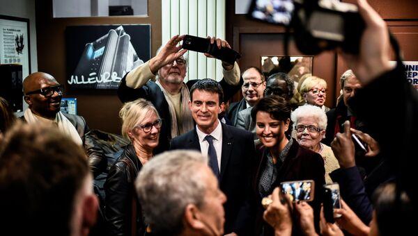 Экс-премьер и кандидат в президенты Франции Мануэль Вальс
