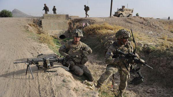 Американские военный в Афганистане, 2011 год