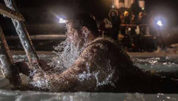 Крещение в Троицком Герасимо-Болдинском мужском монастыре в Смоленской области