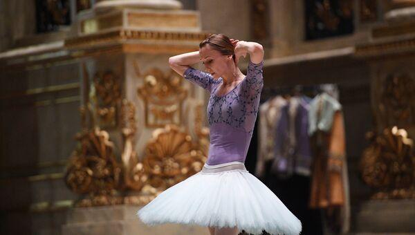Народная артистка России, прима-балерина Светлана Захарова. Архивное фото