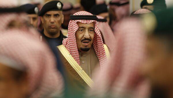 Король Саудовской Аравии Салман бин Абдул-Азиз аль-Сауд. Архивное фото