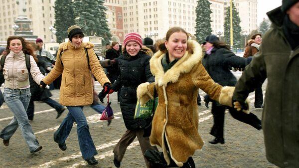 Студенческий праздник в Татьянин день и в честь 250-летия МГУ им. М.В.Ломоносов