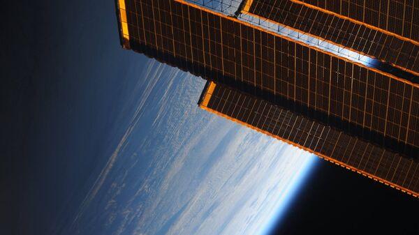Земля с орбиты Международной космической станции