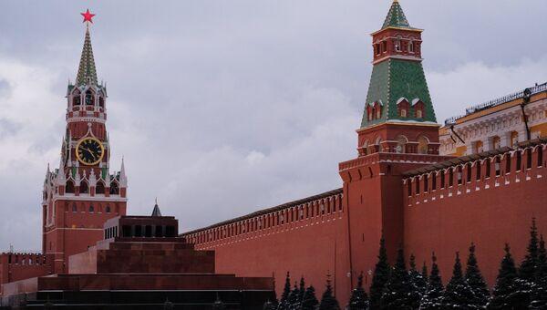Кремль и Мавзолей. Архивное фото
