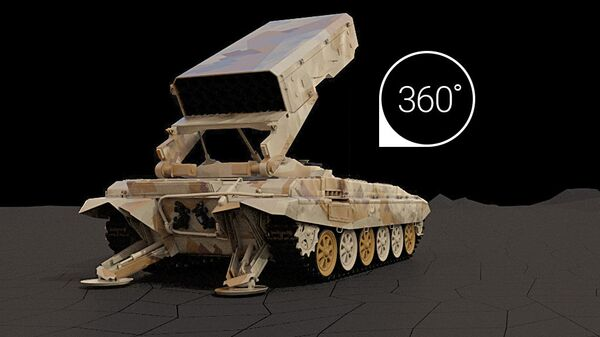 Модернизированная огнеметная система ТОС-1А