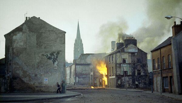 Кровавое воскресенье в городе Лондондерри, Северная Ирландия. 30 января 1972 года
