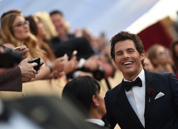 Джеймс Марсден на церемонии вручения премии Гильдии киноактеров США в Лос-Анджелесе