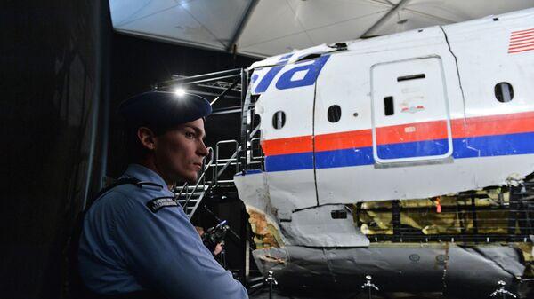 Представление доклада об обстоятельствах крушения лайнера Boeing 777 Malaysia Airlines. Архивное фото