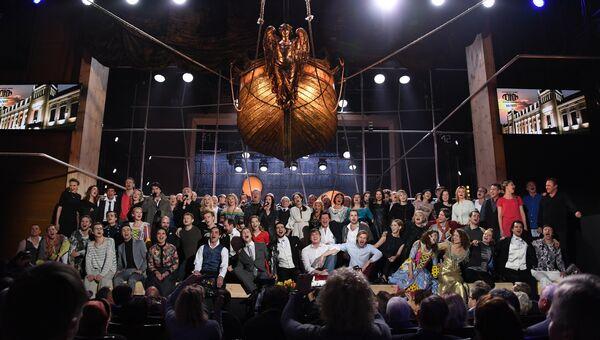 Празднование 90-летия театра Ленком. 31 января 2017 год