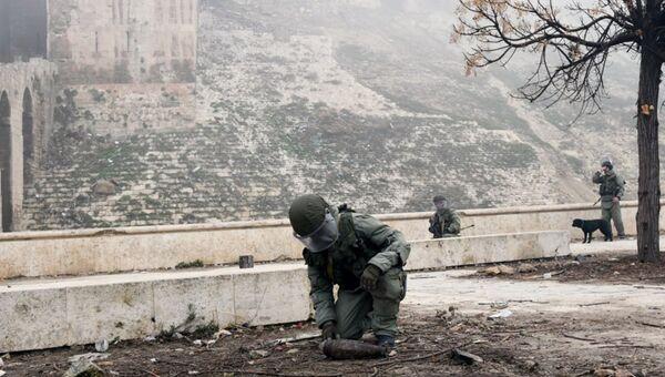 Военнослужащий в Сирии. Архивное фото