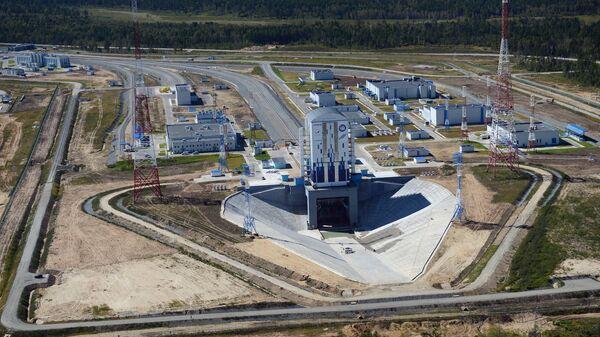 Строительство космодрома Восточный. Архивное фото