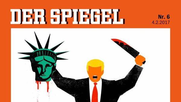 Обложка журнала Der Spiegel