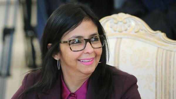 Министр иностранных дел Венесуэлы Делси Родригес