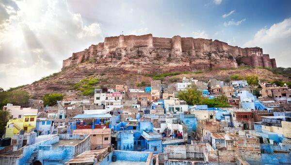 Крепость Мехрангарх в Джодхпуре, Индия