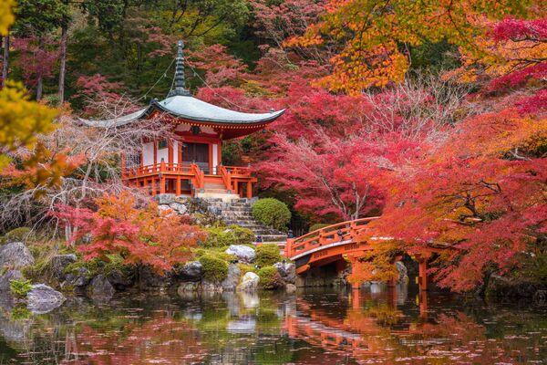 Храм Дайгодзи в Киото, Япония
