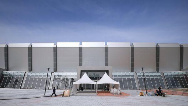 Стадион Овал Кёнпхо для конькобежного спорта в Олимпийском парке в Пхенчхане
